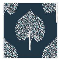 A-Street Prints Grove Tree Wallpaper in Blue
