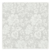 A-Street Prints Tivoli Floral Wallpaper in Grey