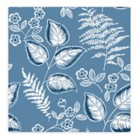 A-Street Prints Trianon Botanical Wallpaper in Blue