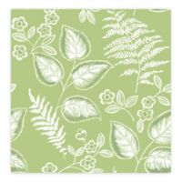A-Street Prints Trianon Botanical Wallpaper in Green