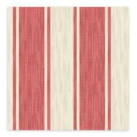 A-Street Prints Ryoan Stripes Wallpaper in Red