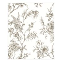 A-Street Prints Jessamine Floral Trail Wallpaper in Taupe