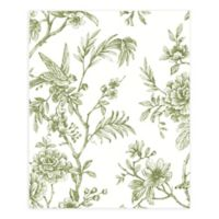 A-Street Prints Jessamine Floral Trail Wallpaper in Green