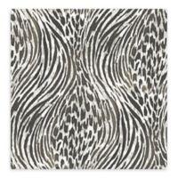 A-Street Prints Splendid Animal Print Wallpaper in Platinum