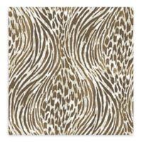 A-Street Prints Splendid Animal Print Wallpaper in Brown