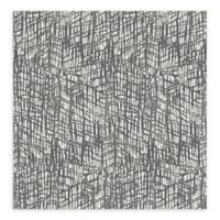 A-Street Prints Shimmer Abstract Texture Wallpaper in Grey