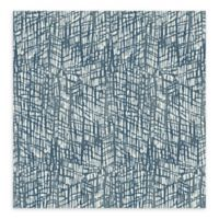 A-Street Prints Shimmer Abstract Texture Wallpaper in Blue
