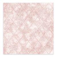 A-Street Prints Mercury Glass Wallpaper in Pink