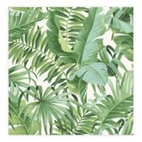 Alfresco Palm Leaf Wallpaper in Green