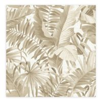 Alfresco Palm Leaf Wallpaper in Taupe