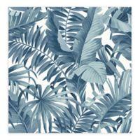 Alfresco Palm Leaf Wallpaper in Navy