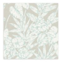 A-street Prints Fiji Floral Wallpaper in Turquoise