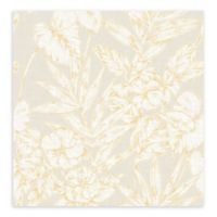 A-street Prints Fiji Floral Wallpaper in Mustard