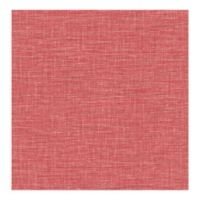 A-street Prints Exhale Faux Grasscloth Wallpaper in Coral
