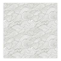 A-Street Prints Mare Wave Wallpaper in Grey