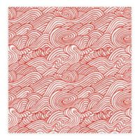 A-Street Prints Mare Wave Wallpaper in Red