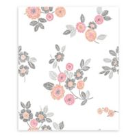 A-Street Prints Malaga Floral Wallpaper in Pink
