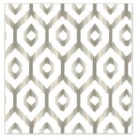 A-Street Prints Lucia Diamond Wallpaper in Grey