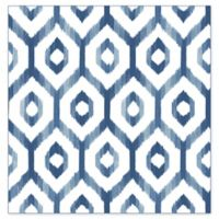 A-Street Prints Lucia Diamond Wallpaper in Blue