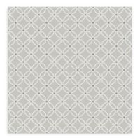 A-Street Prints Kinetic Geometric Floral Wallpaper in Grey