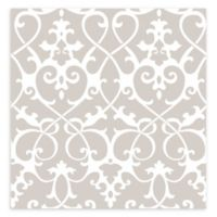 A-street Prints Axiom Ironwork Wallpaper in Taupe