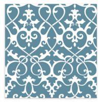 A-street Prints Axiom Ironwork Wallpaper in Blue