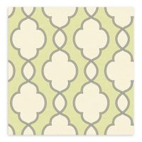 A-Street Prints Structure Chain Link Wallpaper in Green