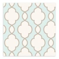 A-Street Prints Structure Chain Link Wallpaper in Turquoise