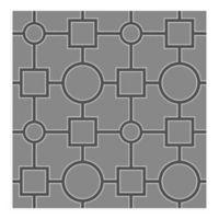 A-Street Prints Matrix Geometric Wallpaper in Black