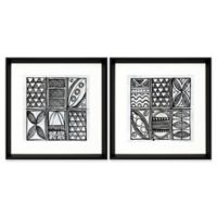 Patterns of the Amazon VI Canvas Wall Art (Set of 2)