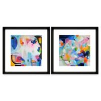 StyleCraft Multi-Colored Abstract Prints (Set of 2)