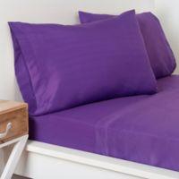 Crayola® Microfiber Twin Sheet Set in Purple