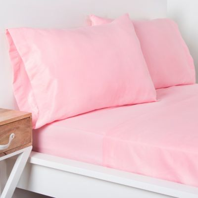 Crayola® Microfiber Twin Sheet Set In Light Pink