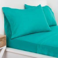 Crayola® Microfiber Full Sheet Set in Blue/Green