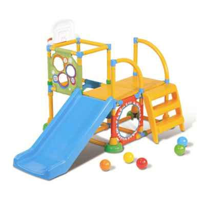 Grow'n Up Climb-N-Slide Activity Gym