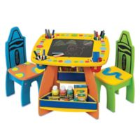 Crayola® Grow'n Up Wooden Table and Chair Set