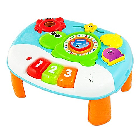 Charming Infant Toys U003e Winfun 2 In 1 Ocean Fun Activity Center