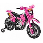 Dirt Bike 6V Ride-On in Pink