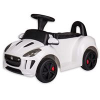 Jaguar F-Type 6V Ride-On in White