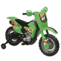 Dirt Bike 6V Ride-On in Green