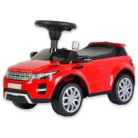 Land Rover Range Rover Evoque Ride-On in Red
