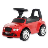 Bentley Continental GT Ride-On in Red