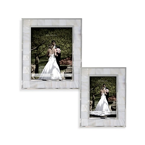 mother of pearl wedding frame - Mother Of Pearl Picture Frame