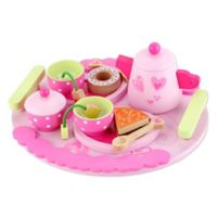 Classic World Afternoon Tea Set in Pink