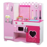 Classic World Kitchen in Pink