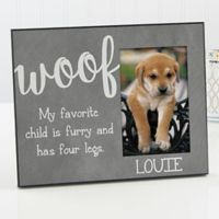 Woof Pet Picture Frame
