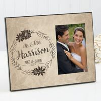 Wedding Floral Picture Frame