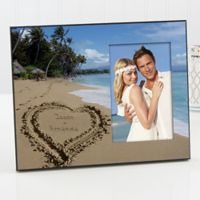 Our Paradise Island Picture Frame