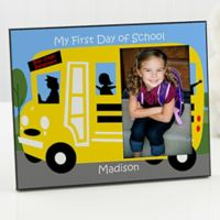 My First Day Of School Photo Frame
