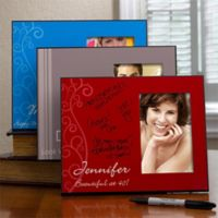 Birthday Greetings Signature Picture Frame